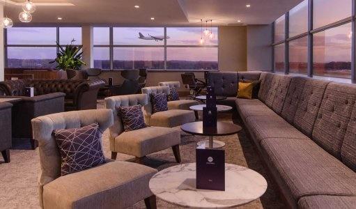 London Gatwick airport lounge