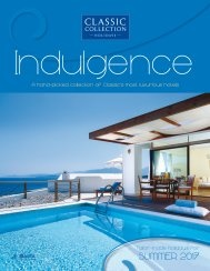 Indulgence Summer 2017 brochure