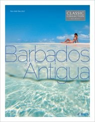Barbados & Antigua 2017 brochure
