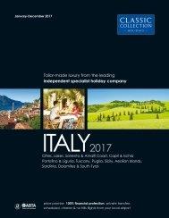 Italy 2017 Brochure