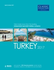 Turkey 2017 brochure