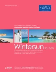 Wintersun 2017/18 brochure