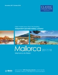Mallorca 2017/18 brochure