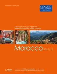 Morocco 2017/18 holiday brochure