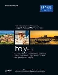 Italy 2018 brochure