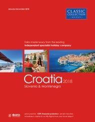 Croatia 2018 brochure