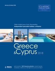 Greece and Cyprus 2018 brochure