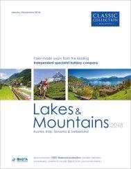 Lakes & Mountains 2018 brochure