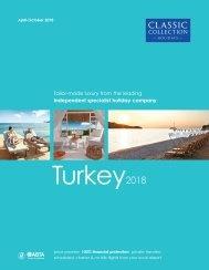 Turkey 2018 brochure