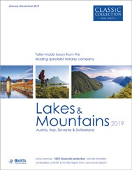Lakes & Mountains 2019 brochure