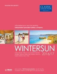 Wintersun 2016/17 brochure