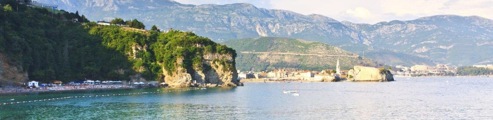 Coast of Montenegro