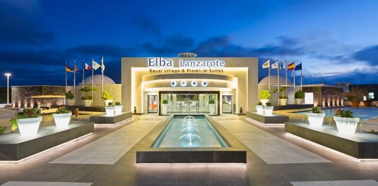 Elba Lanzarote Royal Village Resort, Main Entrance