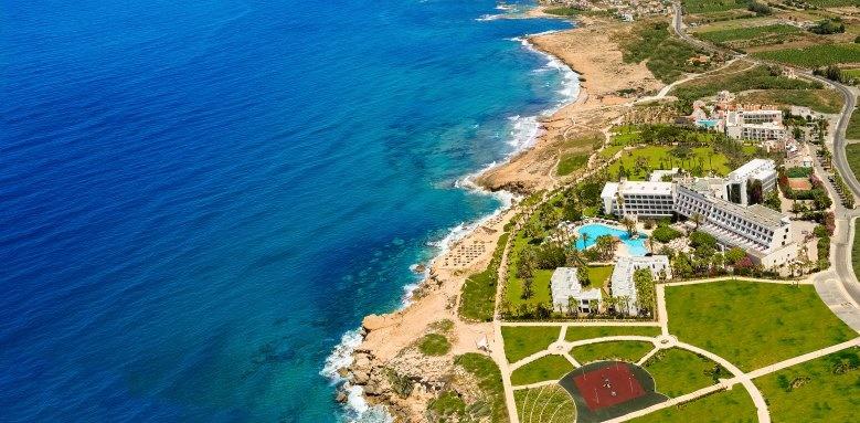Azia Resort & Spa, Aerial View