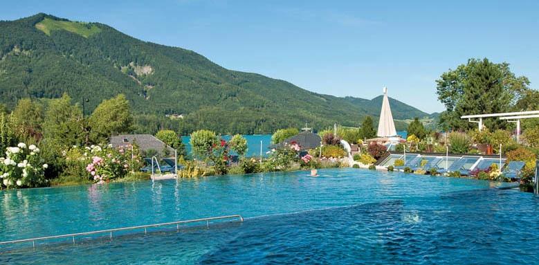 Ebner's Waldhof am See, pool