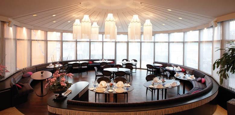 Hotel Schweizerhof, restaurant pavilion