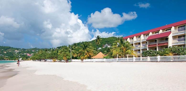 Radisson Grenada Beach Club, beach front property