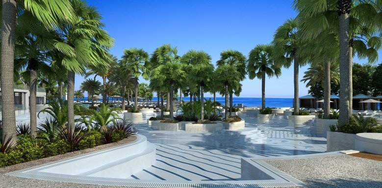 Parklane, a Luxury Collection Resort & Spa, pool and sea view