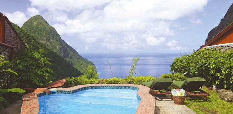 Ladera resort, heritage suite views