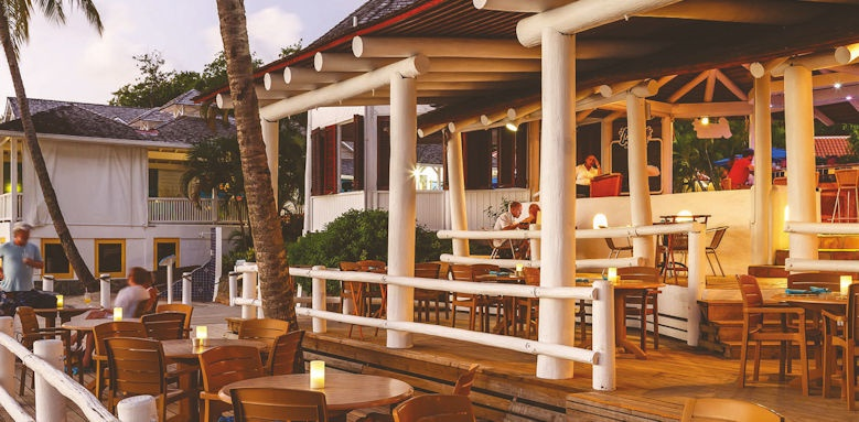 windjammer landing villa beach resort,  restaurant