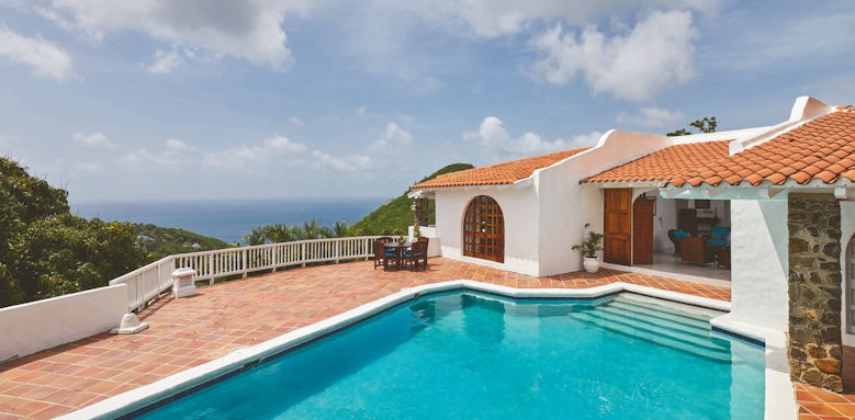 windjammer landing villa beach resort, extate villa pool
