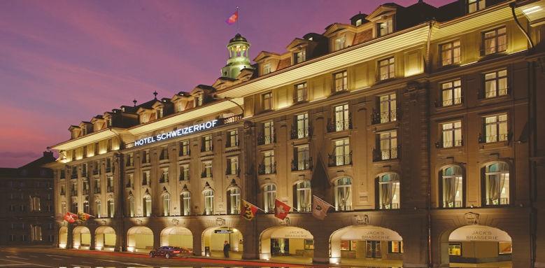 Schweizerhof Bern, front of hotel