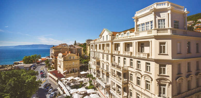 Remisens Grand Hotel Palace, view of hotel