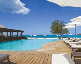 hermitage bay, pool area