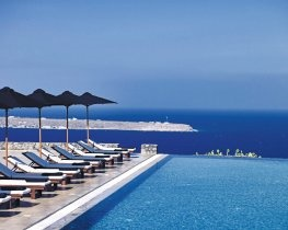 Santo Maris Suites, pool area