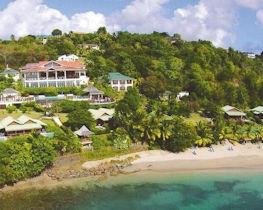 Calabash cove resort and spa, beach area