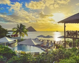 Cap maison luxury resort & spa, view sunset