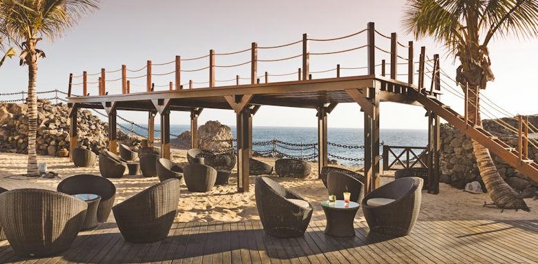 hesperia lanzarote, beach cocktail bar
