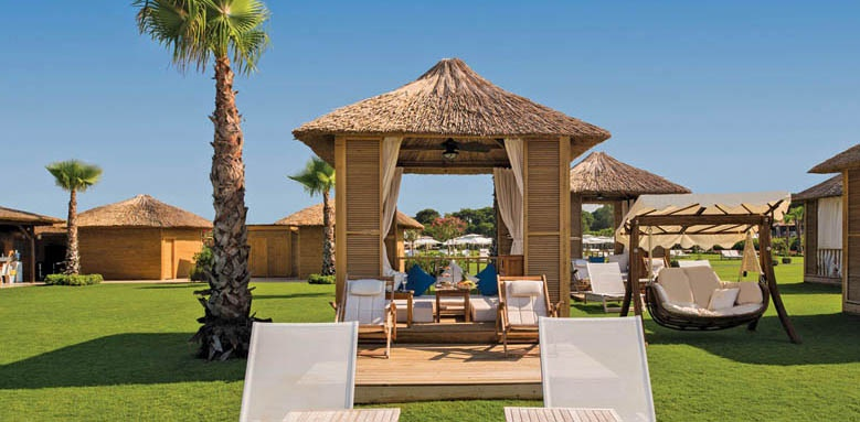 Regnum Carya Golf & Spa Resort, beach suite cabana