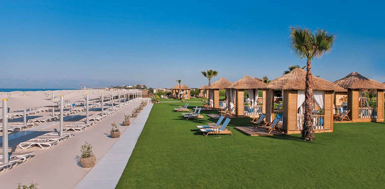 Regnum Carya Golf & Spa Resort, beach suites