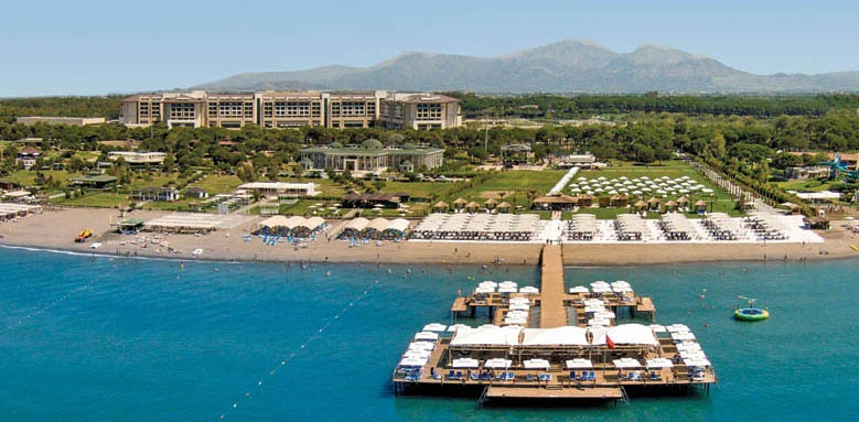 Regnum Carya Golf & Spa Resort, aerial view