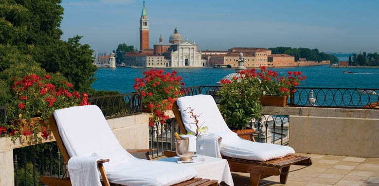 Luna Hotel Baglioni, terrace