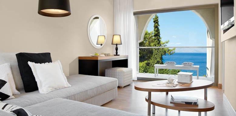 Marbella Beach Hotel, suite sea view