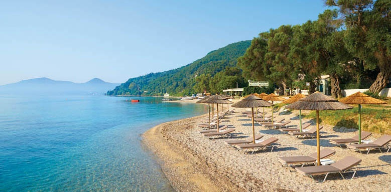 Marbella Corfu, Beach and Sun Loungers