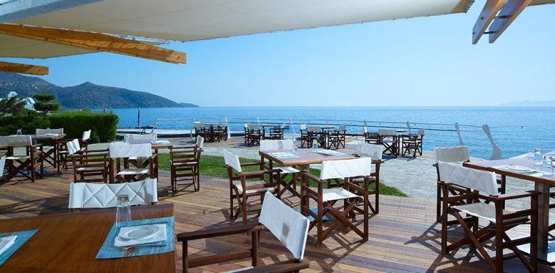 St Nicolas Bay, dining terrace