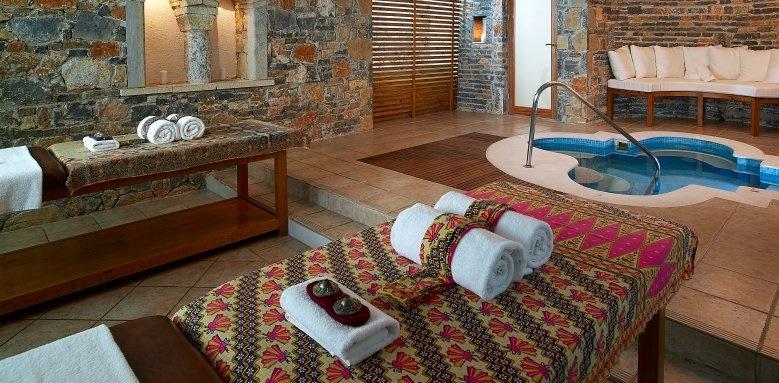 St Nicolas Bay, indoor spa