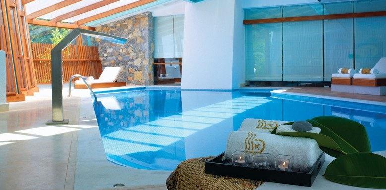 St Nicolas Bay, indoor spa pool