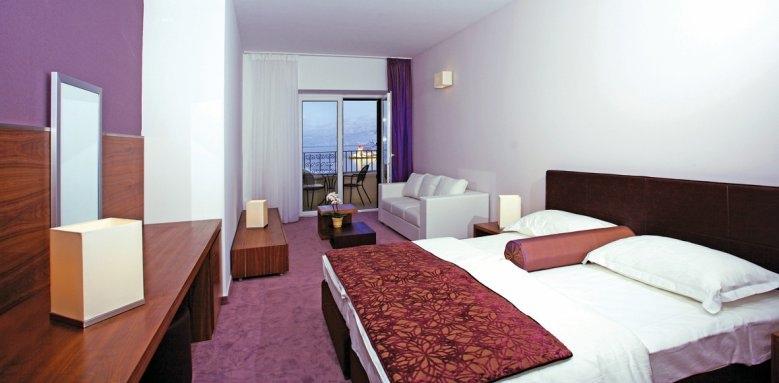 Hotel Lipa, double room sea side