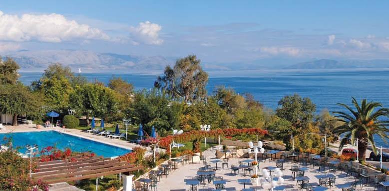 Corfu Palace, view