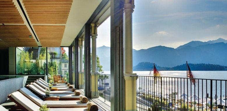 Grand Hotel Tremezzo, terrace