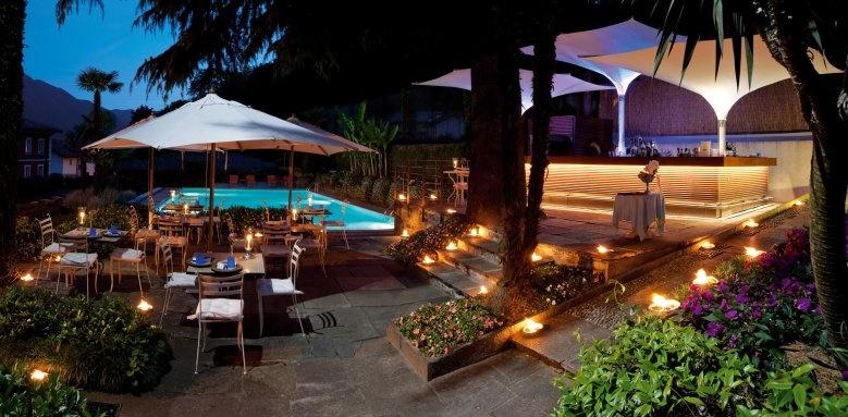 Hotel Tremezzo, Outdoor Restaurant