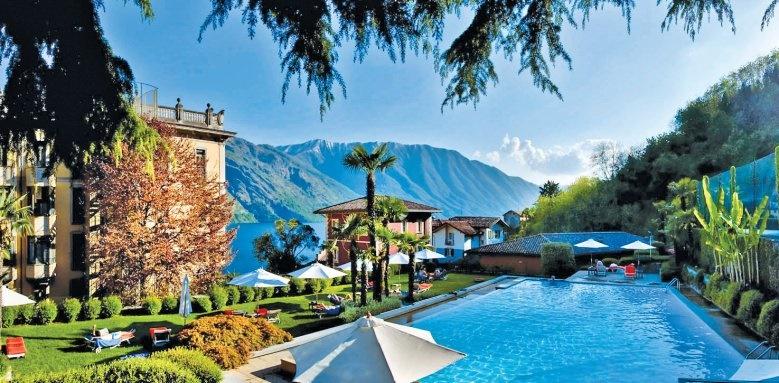 Grand Hotel Tremezzo, pool and view