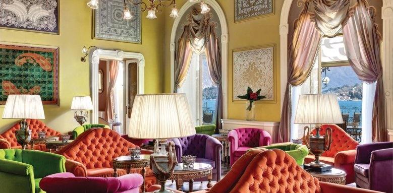 Grand Hotel Tremezzo, music room