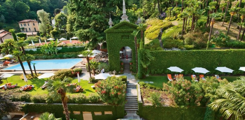 Hotel Tremezzo, the park