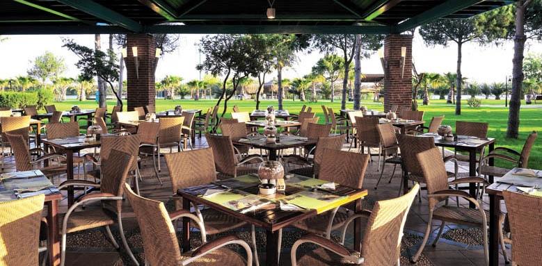 Gloria Golf Resort, Turkuaz restaurant