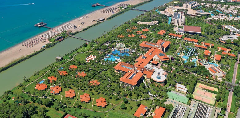 Gloria Golf Resort, aerial view